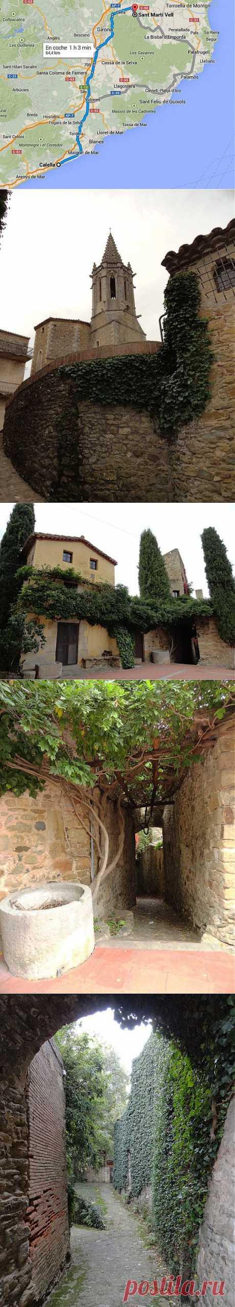 Испания. Взгляд в средневековую Каталонию.   ТУРИЗМ И ОТДЫХ