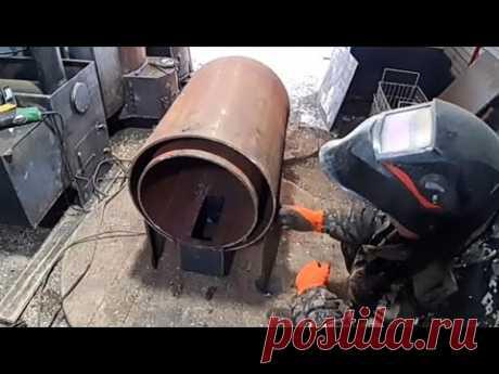Вечный котёл отопления труба в трубе. Начинаем варить