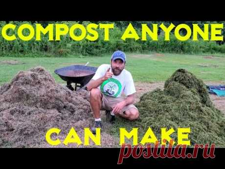 Simple 18 Day Hot Compost Pile (Video 1 of 3)