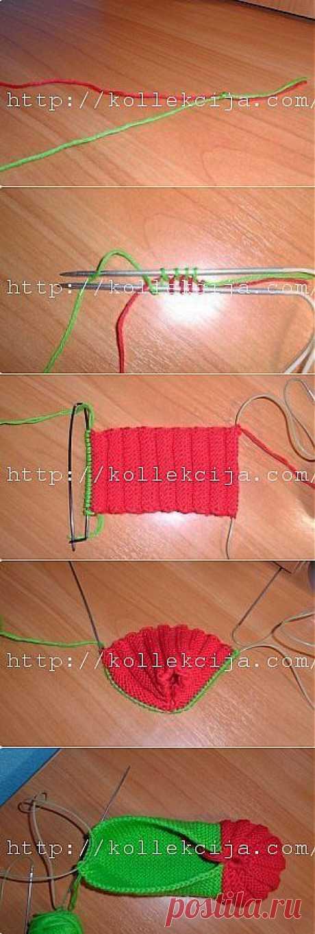 Zemlyanichka slippers | the hands