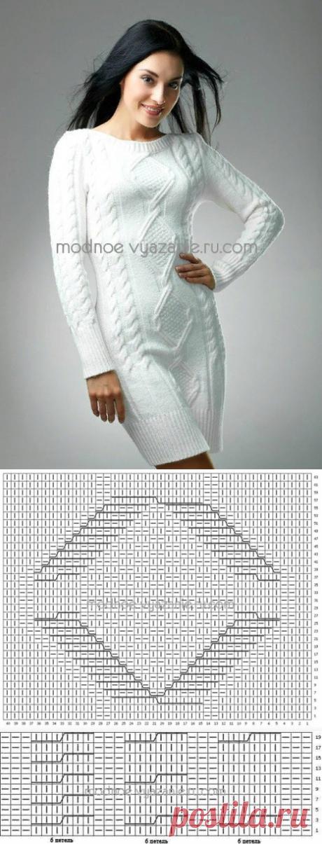 Платье, в котором тепло даже осенью — Сделай сам, идеи для творчества - DIY Ideas