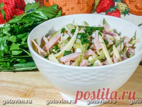 Салат из ветчины с сыром. Рецепт с фото Салат из ветчины с сыром