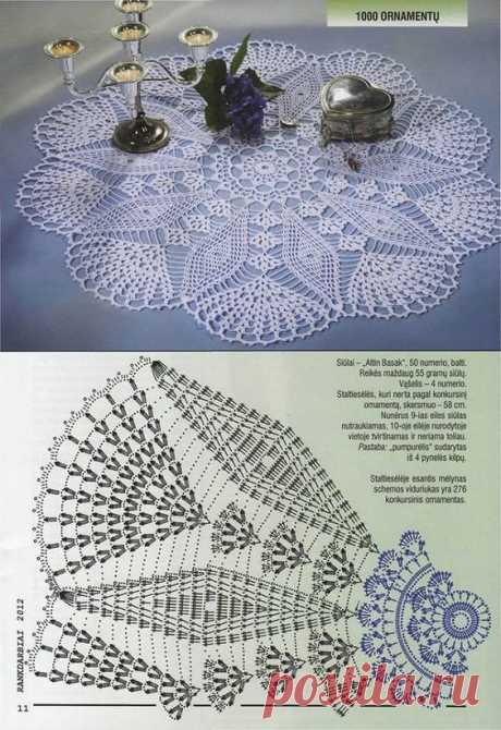 САЛФЕТКИ  lace     Pinterest • Всемирный каталог идей