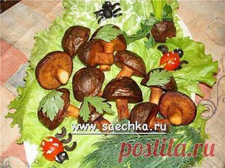 """Грибочки"" из картофеля | Saechka.Ru - рецепты с фото"