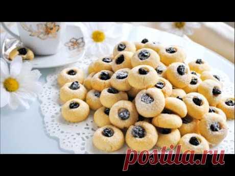 Простое Песочное Печенье с изюмом на сливочном масле 👌🌟 - YouTube