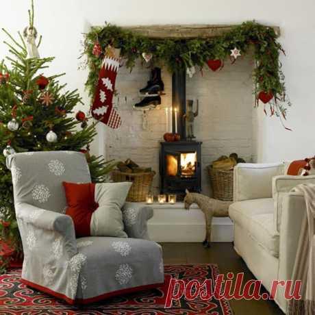 Украшаем дом к Новому году | Интерьерные штучки