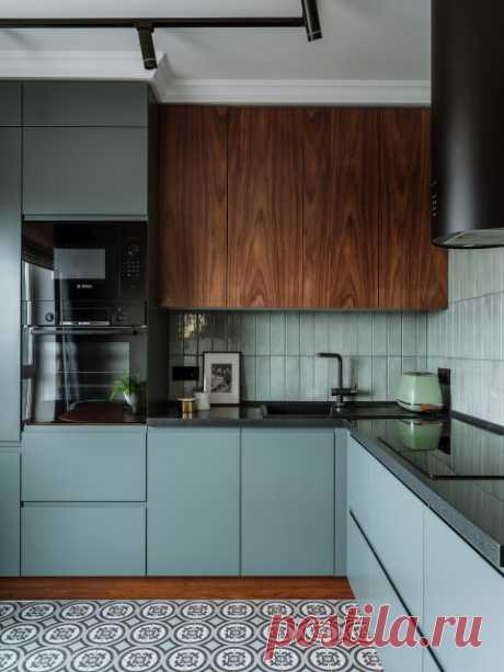 Вопрос: Стоит ли делать кухню до потолка | Houzz Россия