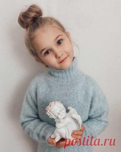 Детский свитер Автор: @filatovaelen