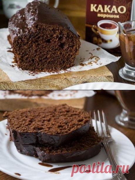 Шоколадно - трюфельный кекс