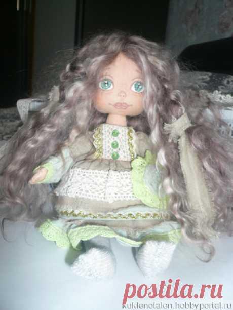 Авторская кукла Эльвира – купить в интернет-магазине HobbyPortal.ru с доставкой