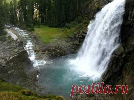 Самый высокий водопад Европы - Путешествуем вместе
