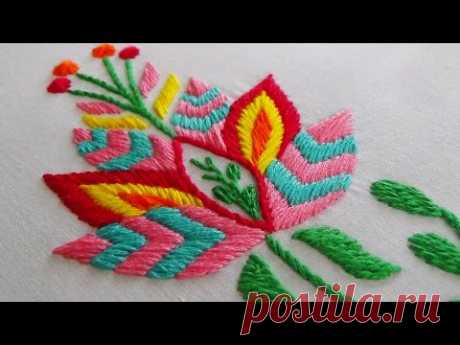 Embroidery. Video of MK