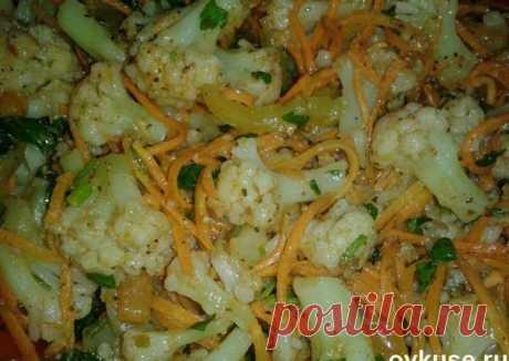 Цветная капустка по-корейски - пошаговый рецепт с фото. Автор рецепта ~Елена~ . - Cookpad