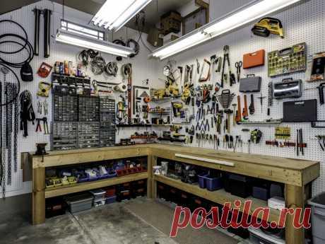Мужику на заметку: 10 идей для идеального порядка в гараже - Квартира, дом, дача - медиаплатформа МирТесен