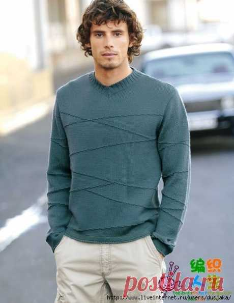 Жакеты, пуловеры для мужчин | Записи в рубрике Жакеты, пуловеры для мужчин | Дневник Вдаха