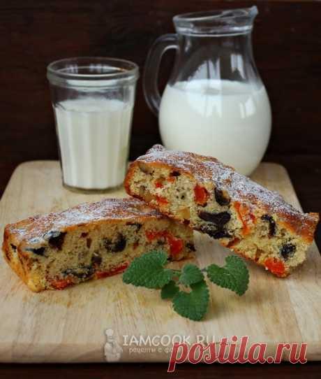 Пирог с курагой и черносливом — рецепт с фото пошагово. Нежный и очень вкусный пирог с курагой и черносливом – необыкновенно вкусное лакомство для домашнего чаепития.