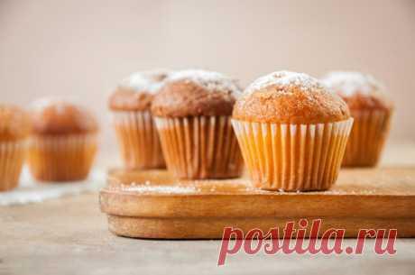 Кексы: рецепты простые от Шефмаркет