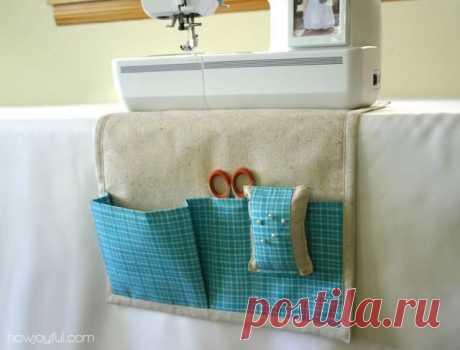 Шьем удобный органайзер для швейных принадлежностей