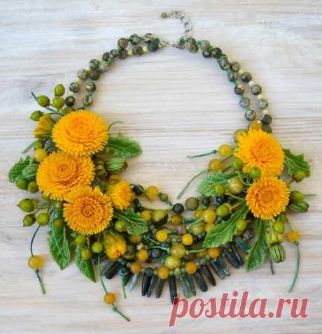 Изумительные цветочные украшения Юлии Галущак | Создавай сам | Яндекс Дзен