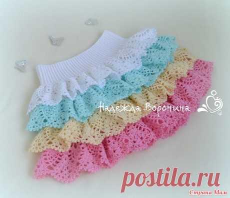 Юбочка для девочки) - Вязание для детей - Страна Мам