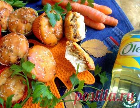 Пирожки мясные с капустой – кулинарный рецепт