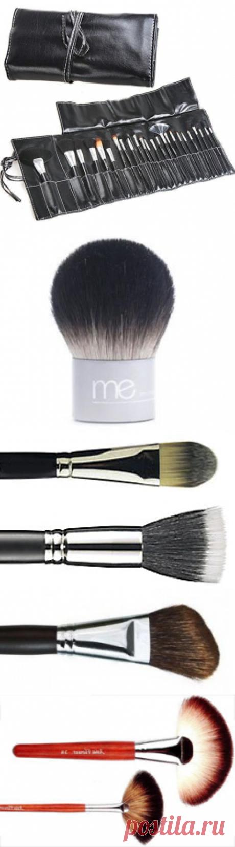 Какая кисть для чего нужна в макияже