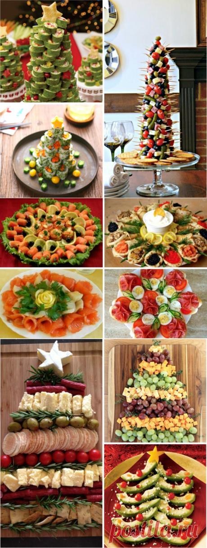 Как оригинально и легко декорировать Новогодний стол? 15 идей — Вкусные рецепты