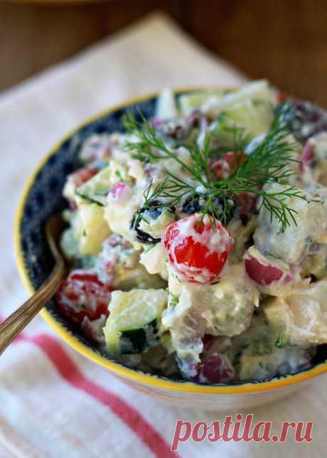 Греческий салат - классический рецепт вкуснейшего салата