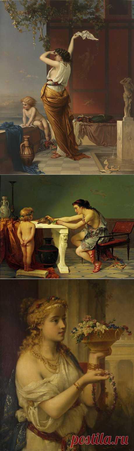 Бельгийский художник Пьер Оливер Джосеф Куманс. | Искусство