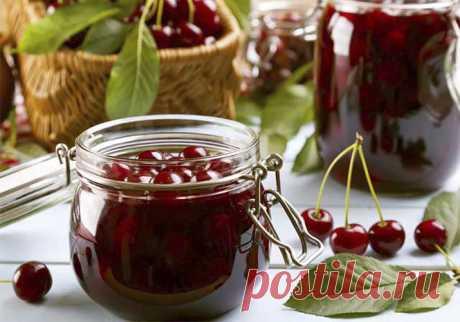 Варенье из вишни с косточками на зиму — 9 простых рецептов густого и вкусного вишневого варенья