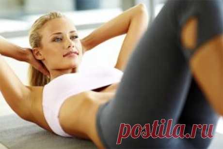 Фитнес дома. Несколько эффективных упражнений для стройного тела   Женский сайт - leeleo.ru