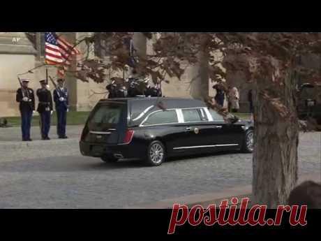 Live: Церемония прощания с 41-м президентом США