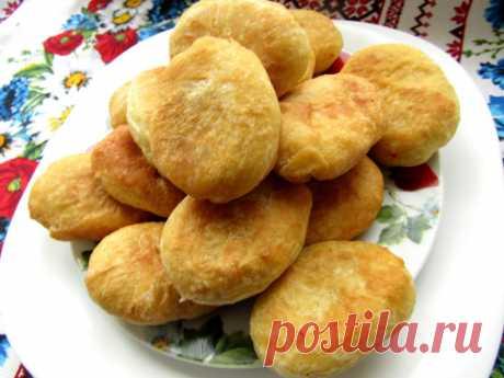 Жареные пирожки с капустой без дрожжей на кефире: рецепт с фото пошагово