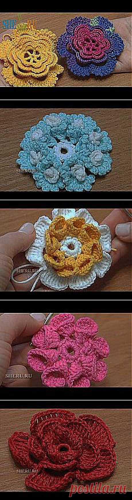наталья слонова: вязание цветов крючком | Postila.ru