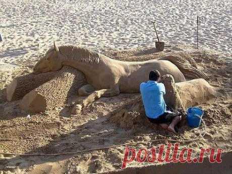 Чудо из песка.