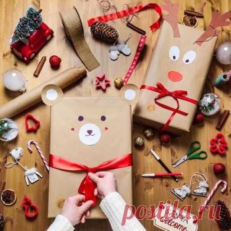 Как упаковать подарок на новый год: 30 оригинальных идей ~ ALL-DEKOR