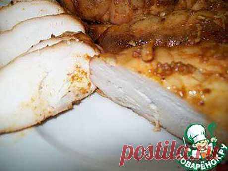 Spicy chicken pastrami - the culinary recipe