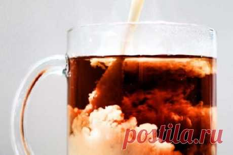 Пейте молочный чай в течении нескольких дней, и результат вас приятно удивит