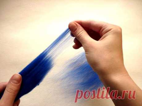 Как создавать картины шерстяной акварелью | Рукоделие