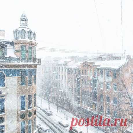 В День защитника Отечества Петербург вновь накроют метели и снегопады. Высота снежного покрова увеличится на 10, а местами и на 13 см.