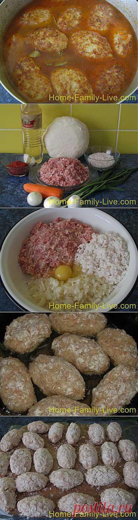 Кулинарные рецепты Как приготовить ленивые голубцы - рецепт с пошаговым фото