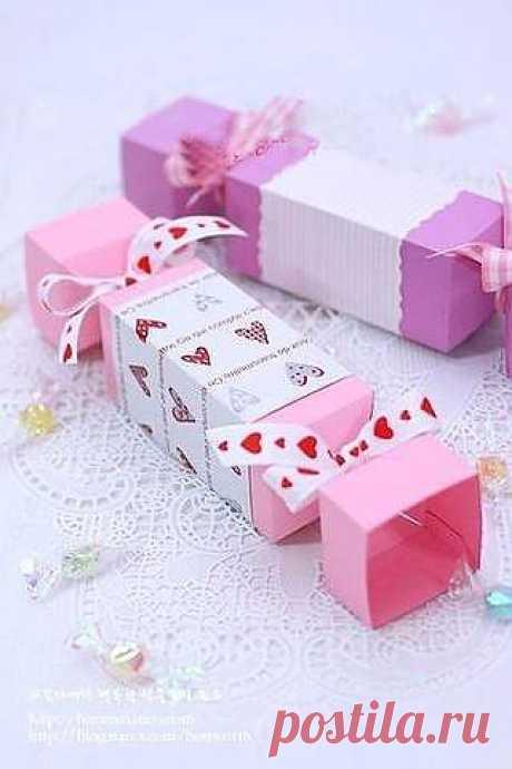 Как сделать коробку для подарка — схемы | My Milady
