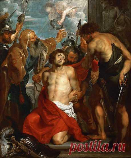 Мученичество святого Георгия. Питер Пауль Рубенс. Описание картины, скачать репродукцию.