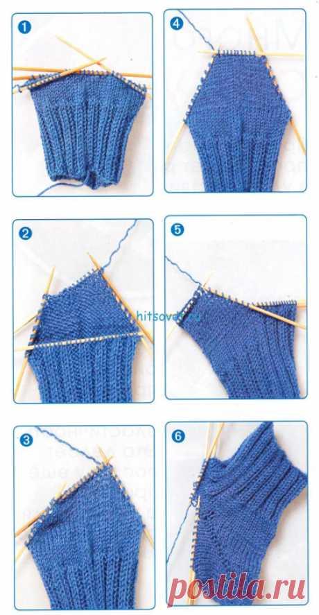 Секреты вязания носков. Спицами