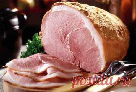Как приготовить ветчину из свинины в домашних услових