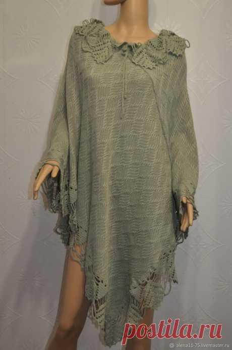 Light Elegant Knitted Women's Poncho Shawl Cape Wrap | Etsy