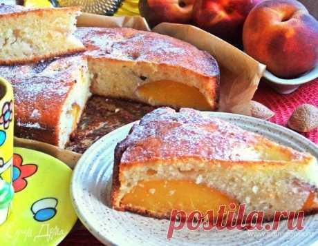 Пирог с персиками на йогурте рецепт 👌 с фото пошаговый | Едим Дома кулинарные рецепты от Юлии Высоцкой