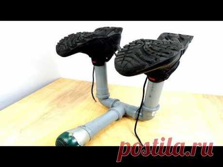 DIY | Сушилка Для Обуви из Канализационных Труб | СВОИМИ РУКАМИ
