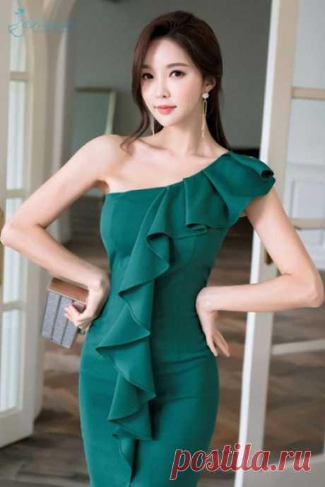 Элегантные платья с воланами. Подборка идей и выкройки
