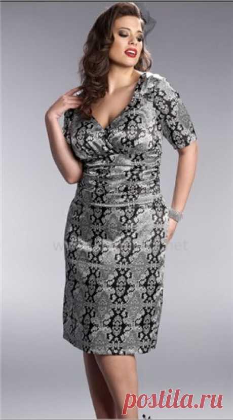 Построение выкройки-основы платья для дам с аппетитными формами!!! + 2 выкройки праздничных платьев + модные идеи!!!!